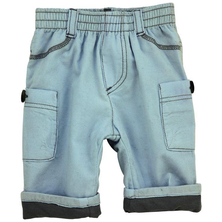 Jean Bourget Baby velvet pants (Baby Bleu)