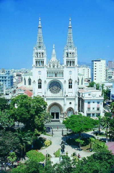 guayaquil ecuador   Guayaquil (Ecuador): Capilla lateral de la Catedral de Guayaquil ...
