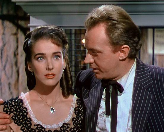 Julia (Julie) Adams & Arthur Kennedy in 'Bend of the River' 1951