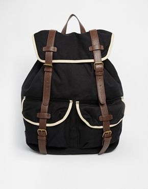 Enlarge ASOS Oversized Backpack with Contrast Straps