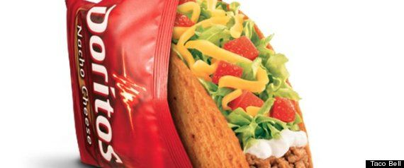 The numbers are in: Taco Bell's Doritos taco is now officially the chain's most popular product ever. The Doritos Locos taco features a nacho cheese-flavored shell made of the iconic chip, which is then stuffed with seasoned beef, lettuce and tomato.