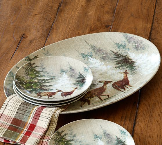 Pottery Barn Deer In The Snow Google Search Stags