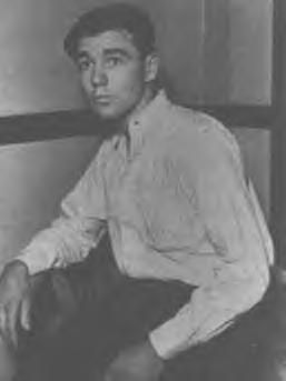 This is W.D Jones who was 16 when he joined up w/ the Barrows Gang.Things started getting bad in the end.1 day W.D. said he got tired of the bickering & sitting w/ 2 couples.I imagine he was lonely too.He stole a car & left Bonnie,Clyde,Buck & Blanch. When he was caught he did 15 years for helping murder Doyle Hohnson in Temple,Texas. On 8/4/74 when he was trying to help a woman & in a misunderstanding was shot & killed by her jealous boyfriend.He gave an interview to Playboy in 1967.