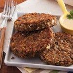 Aprenda a preparar hambúrguer vegetariano caseiro