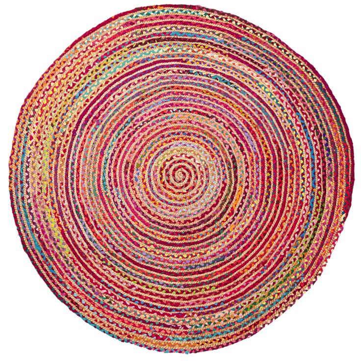 Handcrafted in India from recycled material & jute, the Cabo rug by Eb&Ive is the perfect accessory to brighten up your home.  Diameter 150cm and just $159.95  Available from www.bohemianliving.com.au