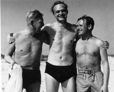 W.H. Auden, Stephen Spender y Christopher Isherwood