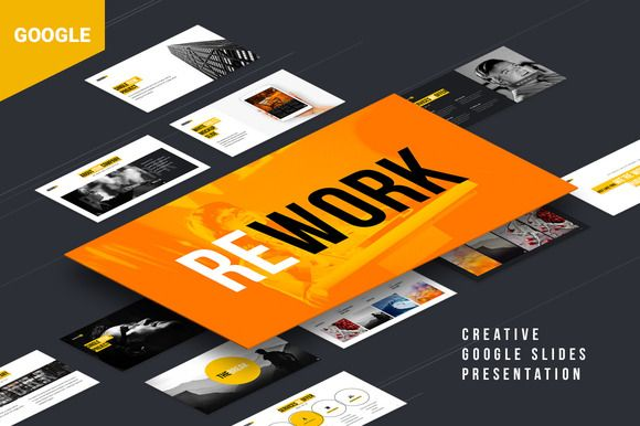 Rework Google Presentation by ReworkMedia on @creativemarket