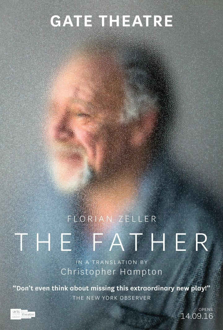 The Father by Florian Zeller in a translation by Christopher Hampton. Previews from 8th September. Opening 14th September.
