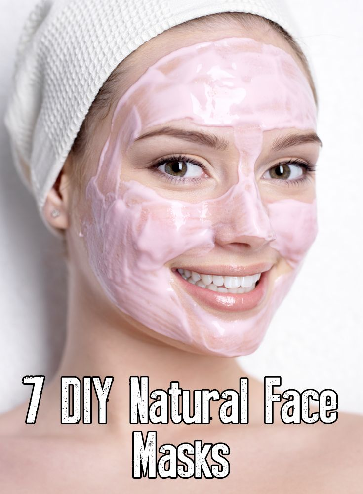 7 do it yourself face masks that you can make at home out of all natural ingredients!