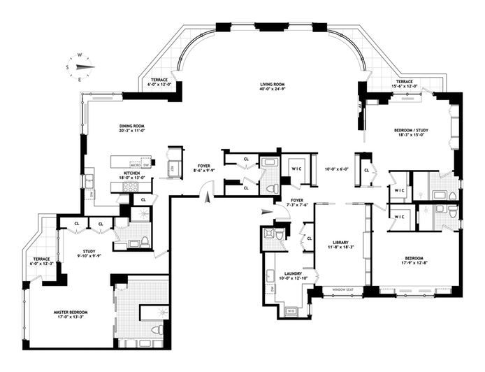 202 best apartment floor plans images on pinterest | apartment