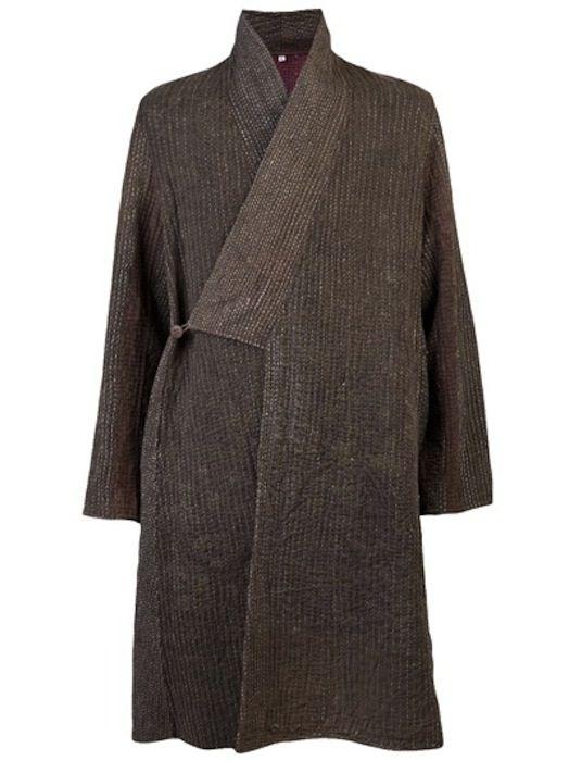 vêtement : kimono gris