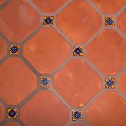 Mexican mosaic talavera tile