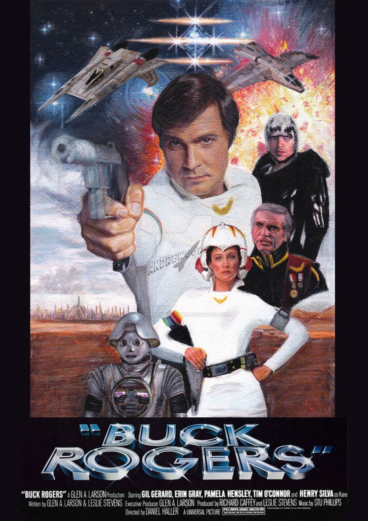 Buck Rogers in the 25th Century poster by andrewoonline on DeviantArt