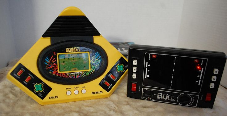 Working Video Games Blip and Vtech Taking Baseball by ourPastourFuture on Etsy