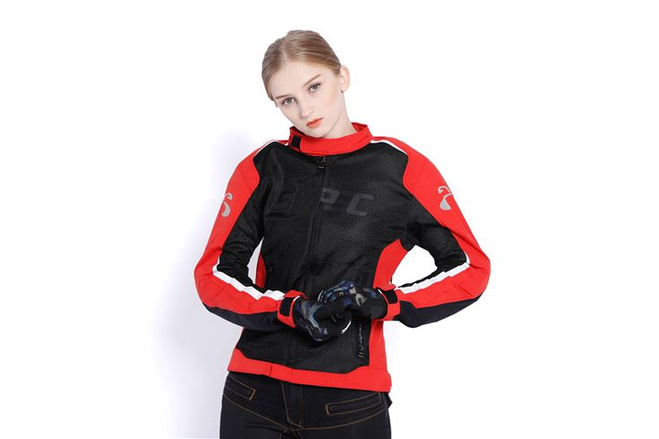 ==> [Free Shipping] Buy Best Women Motocross Jacket Summer Motorcycle Jacket breathable light Riding Tribe moto protective clothing with 5pcs protectors Online with LOWEST Price | 32826394206