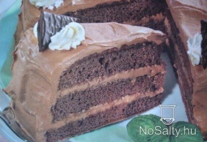 Mentolkrémes torta