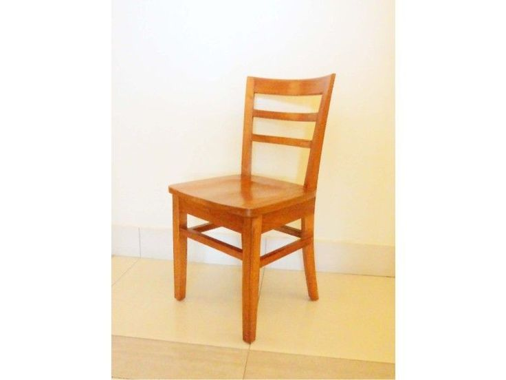A handy chair suitable for Cafe and restaurants. It is made of Solid wood. The chair is designed to maximize your seating capacity without compromising the comfort. DIMENSION:  W 40cm x D 39cm x H 85cm SH 45cm