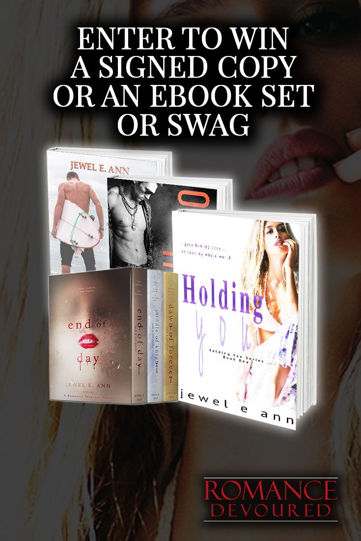 Win a $25 Amazon Gift Card, Signed Copies, eBook Copies, or Swag from Bestselling Author Jewel E Ann