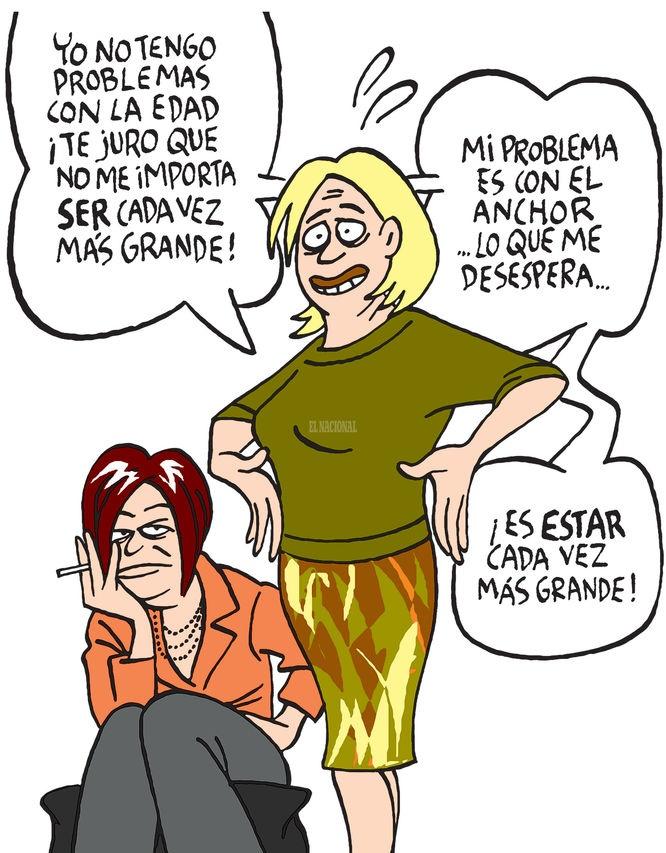 Maitena. (En Todo en Domingo 27/05/2012 http://impresodigital.el-nacional.com/suplementos/2012/05/27/)