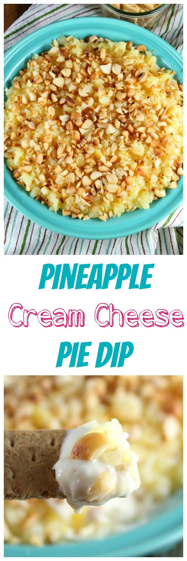 Recipe for Pineapple Cream Cheese Dip Appetizer ~ MissintheKitchen.com