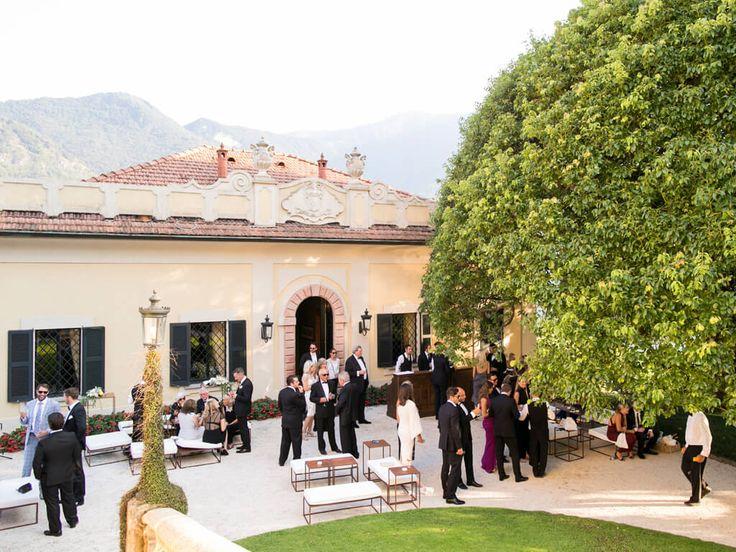 Villa del Balbianello aperitivo