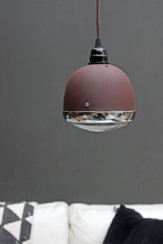 Vespa Ceiling Light Rust