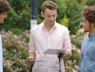 Consumers pick Galaxy Tab S over iPad Air (in Samsung ad) On the streets of New York, people are realizing that Samsung's new tablet is thinner and just plain better. At least in this Samsung ad they are.