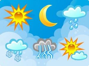 Vremea pentru nord vestul tarii în intervalul 1 - 14 aprilie