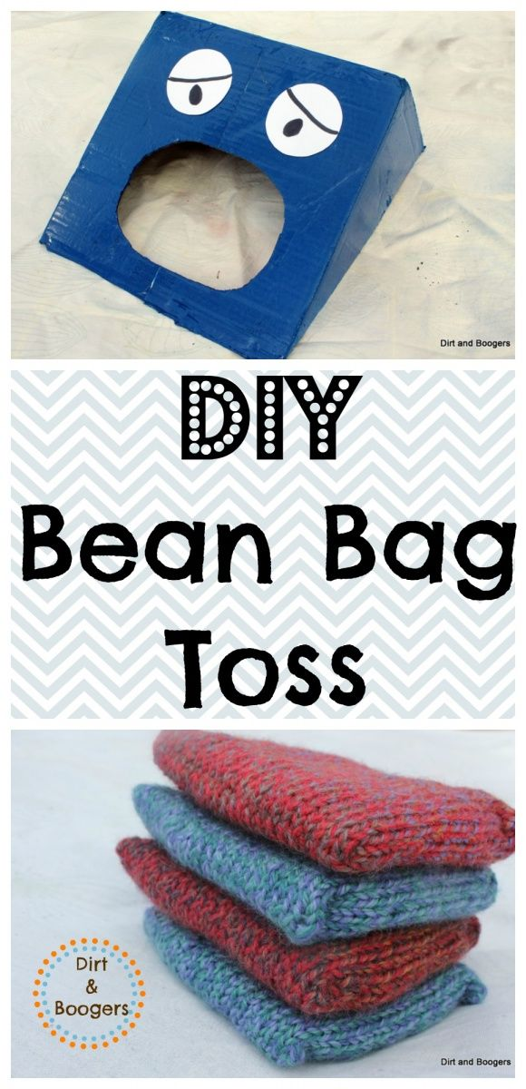 Homemade Toys Bean Bag Toss Homemade Toys And Boxes