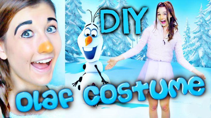 DIY Olaf costume for teen girls   Olaf kostüm, Diy olaf ...  Diy Olaf Costume For Teen Girls
