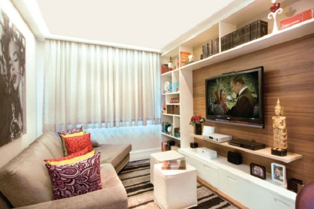 home theater - sala de tv
