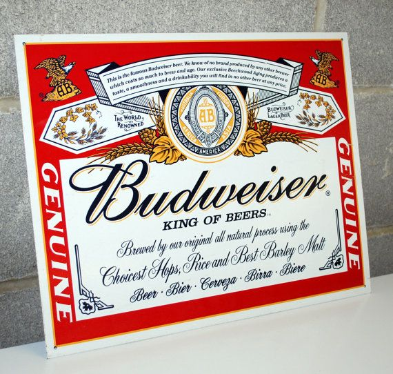 156 best images about budweiser the king of beers on for Budweiser logo tattoos
