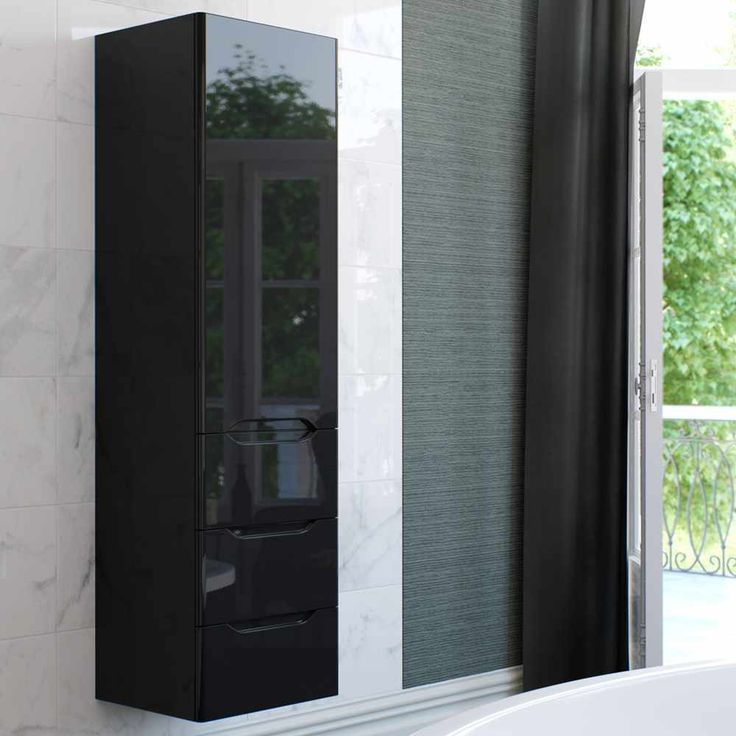 Giro Tall Unit With Drawers Bathroom Furniturebathroom Storagedrawers