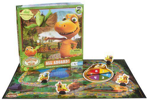 Pressman Toy Dinosaur Train All Aboard Game by Pressman Toys, http://www.amazon.ca/dp/B0038NZ54W/ref=cm_sw_r_pi_dp_4DmMsb1ZHR41A