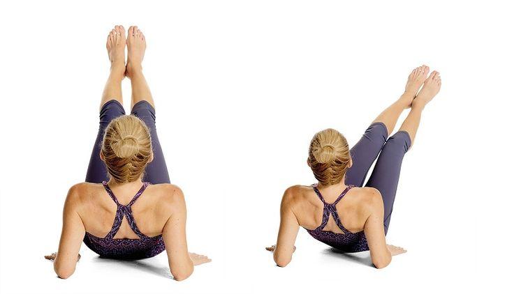 10 minutové cvičení, které Vám pomůže vytvarovat plošší a pevnější břicho – Milujeme cvičení