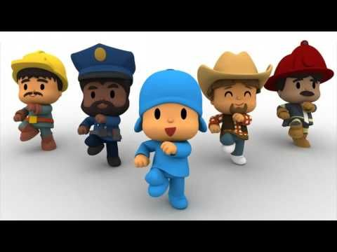 """Pocoyo y sus amigos nos enseñan """"El baile del cuadrado"""", esta canción le encanta a los niños y niñas."""