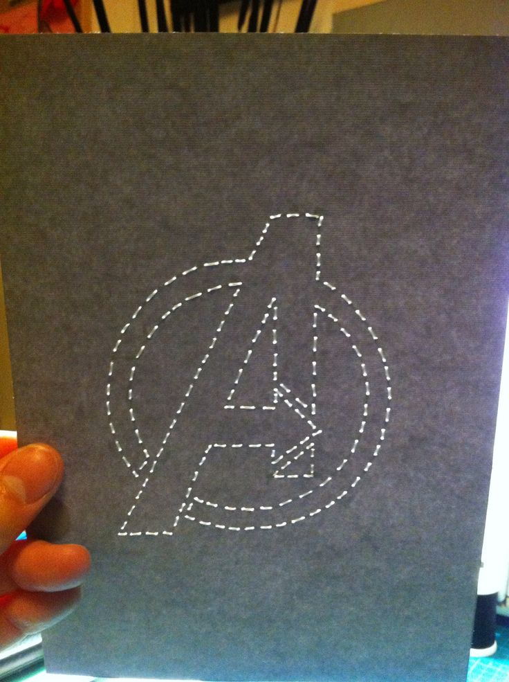 "The Avengers ""A"" Stitched Art by JSA. #JaimiesStitchedArt"