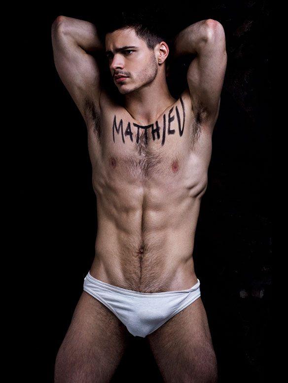model men french naked