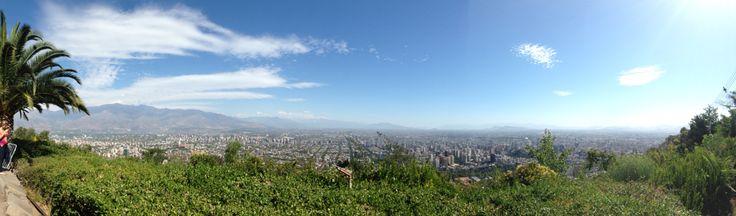Parque metropolitano - Santiago
