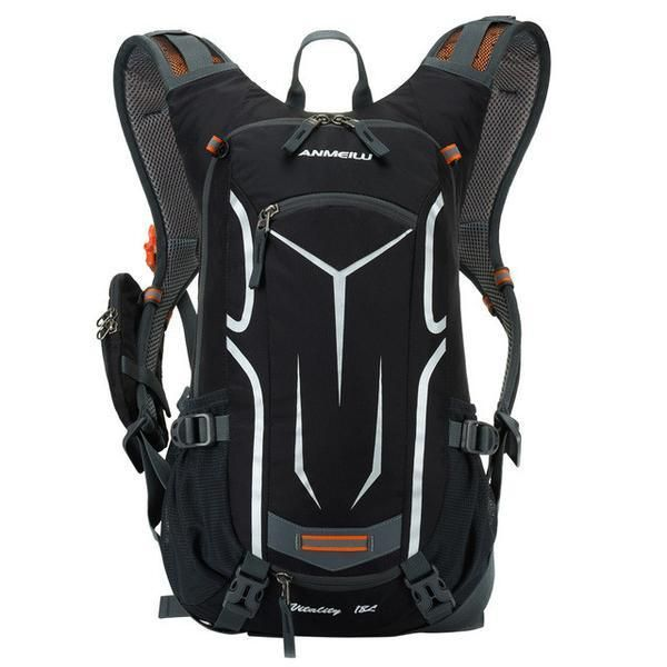 Mountain Bike Backpack, 18L Ultralight Reflective - FREE Shipping