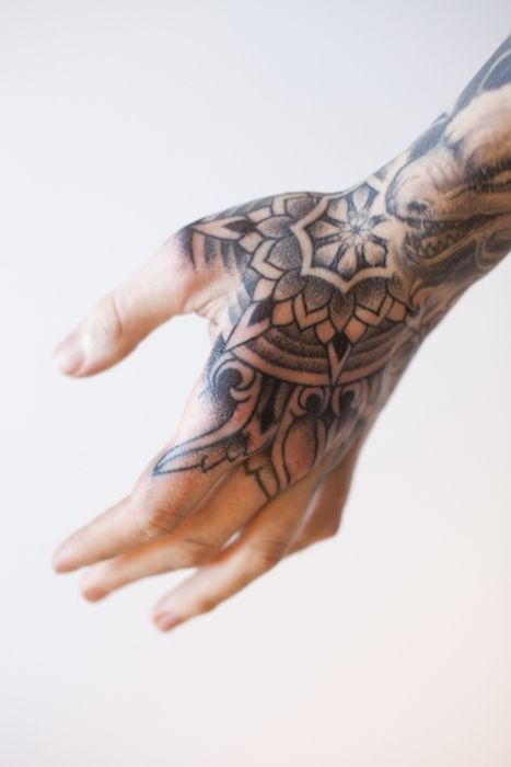 #Tattoo #Hand #Geometric - WOuld I get something like this? I don't know... it's have to be awesome like this or better :)