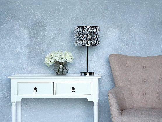 Tafellamp zilver 53 cm TENNA_684475