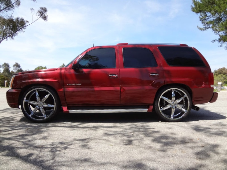 Cadillac On 26 Inch Rims : Cadillac escalade on quot inch rim only k miles