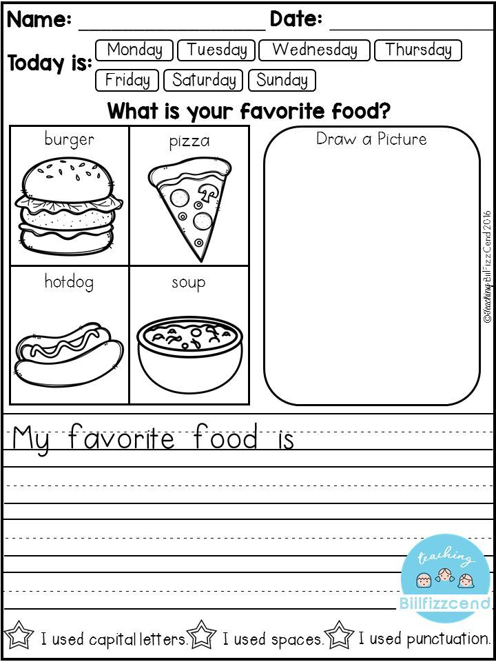 Personal Narrative Writing Prompts For Kindergarten