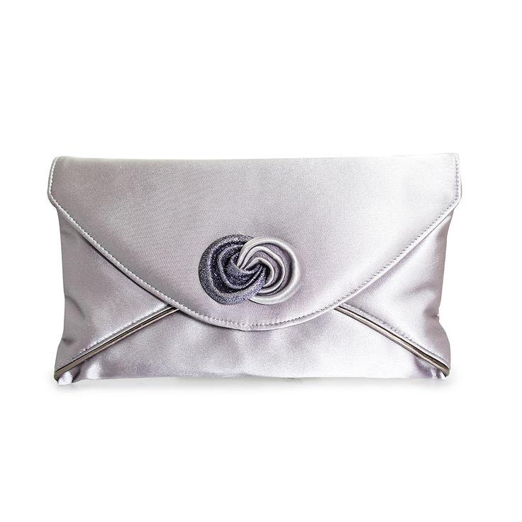 WPLBRPEW Mother of the Bride Groom Pewter Clutch Bag #pewterclutch#weddingbag#bridesmaidbag#satinbag Wedding Pearls, 106 Minster Rd, Stourport on Severn DY13 8AB Call 07896 436797 www.weddingpearls.net