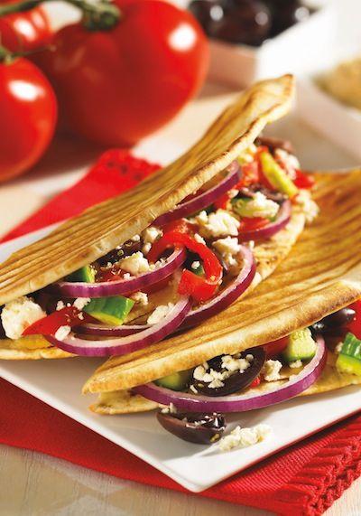 Greek Veggie #Panini