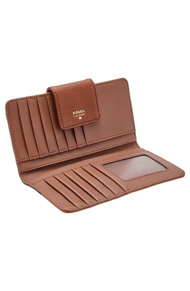 COLOR: CAMEL. Fossil 'Sydney' Wallet