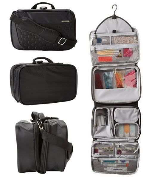 4336bfb88409 Best Hanging Travel Toiletry Bag For Women. Review of excellent ...