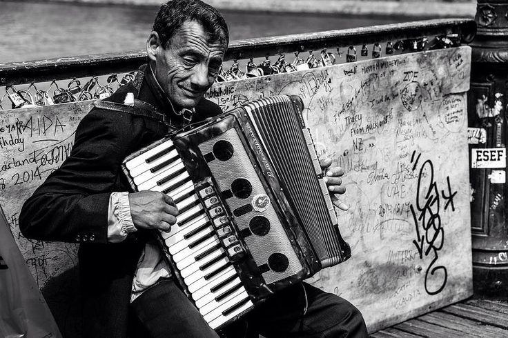 Paris Street Musician