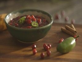 Cranberry Compote with Jalapeno : Recipes : Cooking Channel